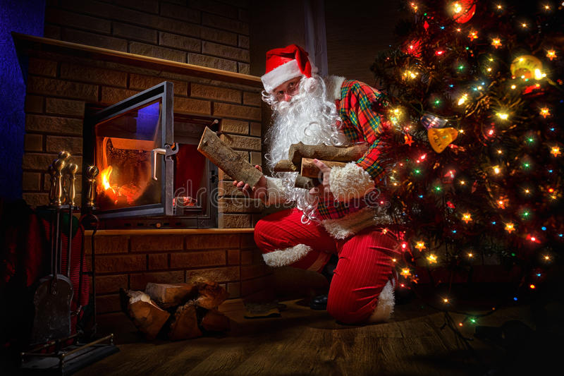 Santa Claus photographie stock libre de droits