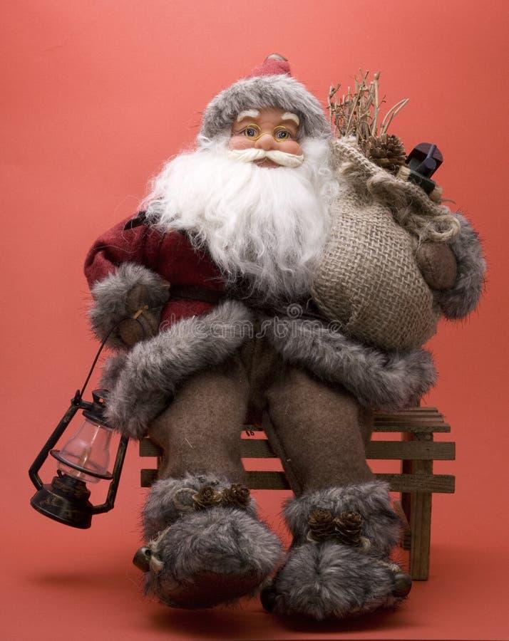 Download Santa Claus stock image. Image of hand, costume, glasses - 5488161