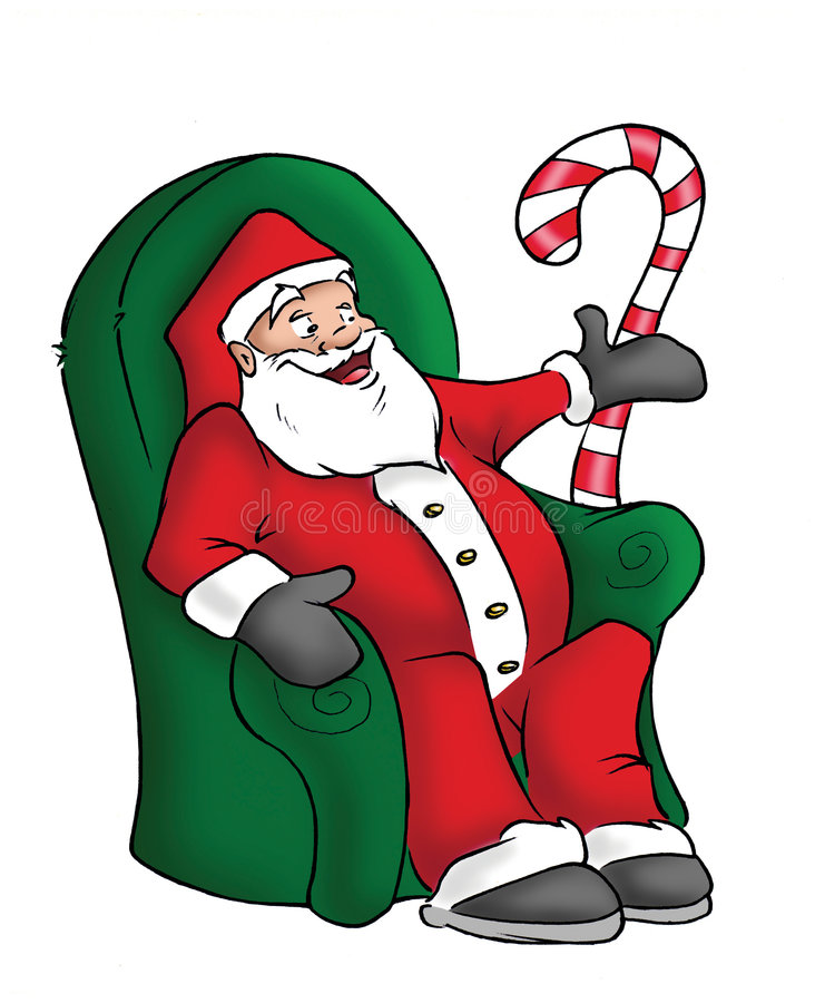Santa Claus stock illustration