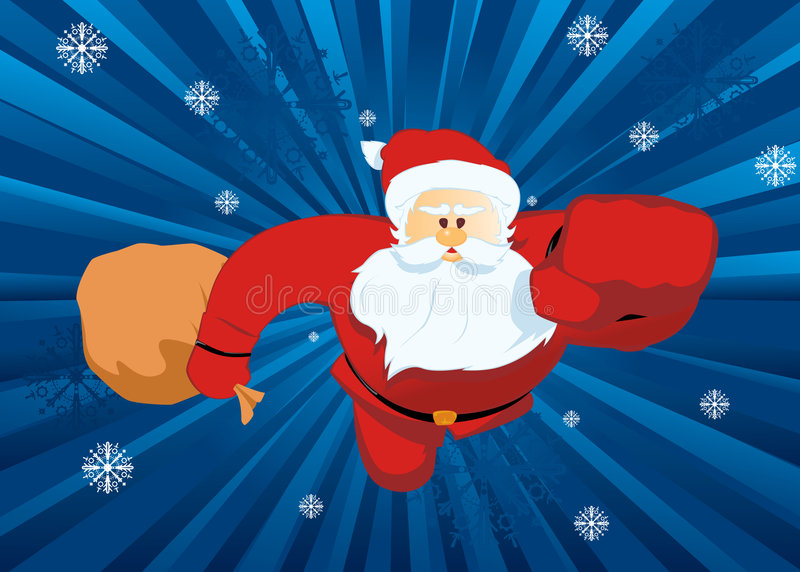 Download Santa claus stock vector. Illustration of comic, vector - 6605429