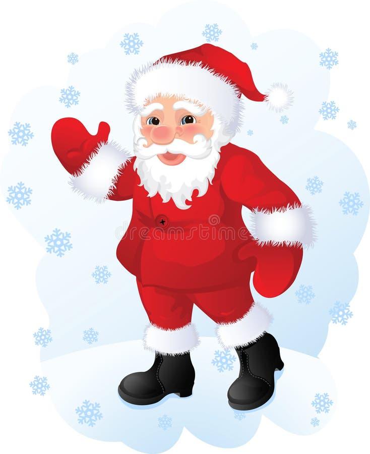 santa Claus απεικόνιση αποθεμάτων