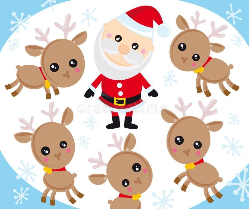 Download Santa claus stock vector. Image of claus, christmas, cute - 7162290
