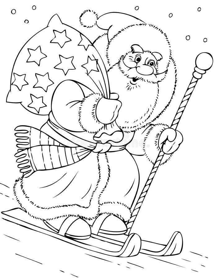 Download Santa Claus stock vector. Image of design, festive, beautiful - 7331889