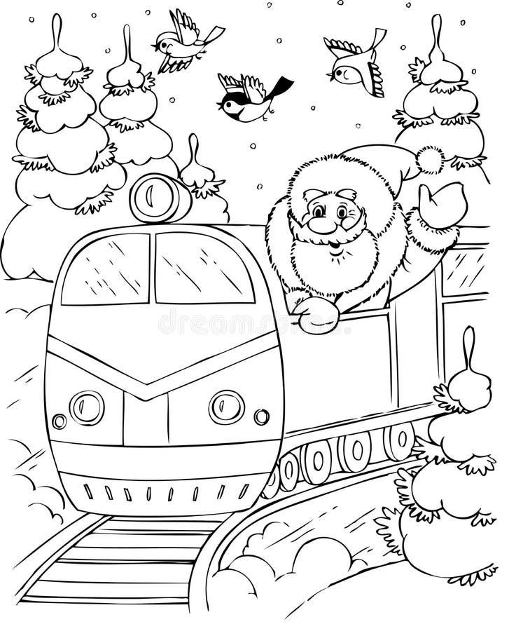 Download Santa Claus stock vector. Image of cute, enjoyment, cartoon - 7423432