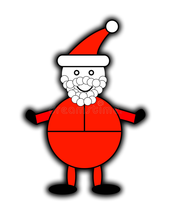 Download Santa Claus stock illustration. Illustration of expressive - 7447233