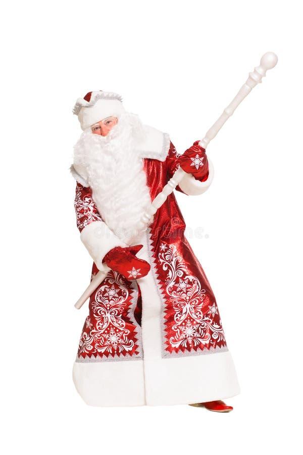 Santa Claus allegra immagini stock
