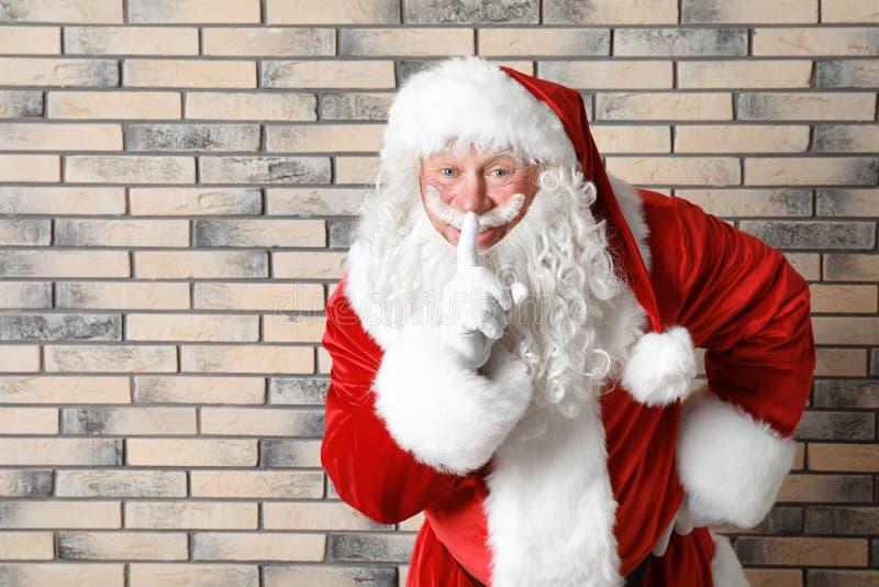 Santa Claus auténtica imagen de archivo libre de regalías