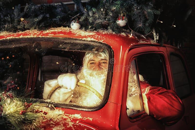 Santa Claus autentica fotografie stock