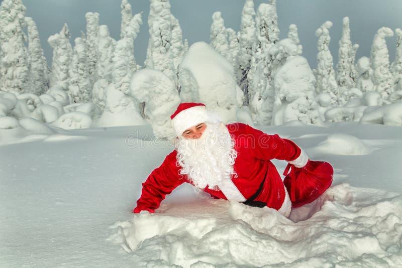 Santa Claus autentica in Lapponia immagine stock libera da diritti
