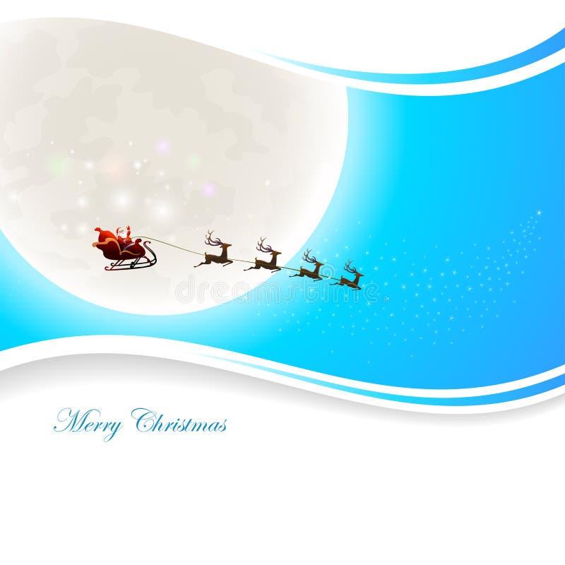 Santa Claus Background illustrazione di stock