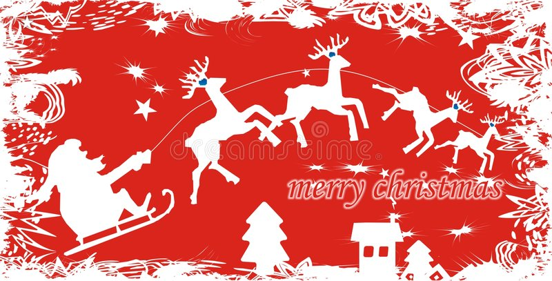 Download Santa Claus Background stock vector. Illustration of christmas - 3620036