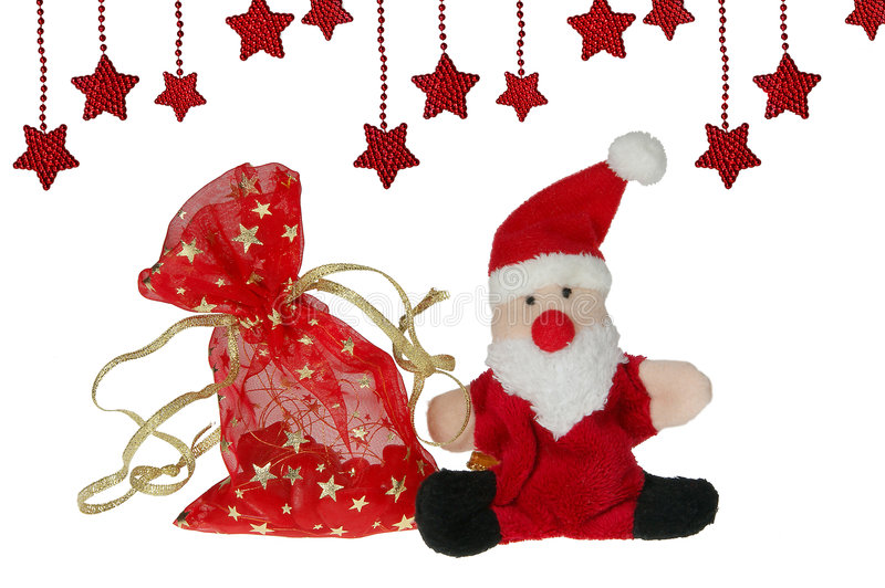 Download Santa Claus With A Bag Of Gifts Stock Image - Image: 7353551