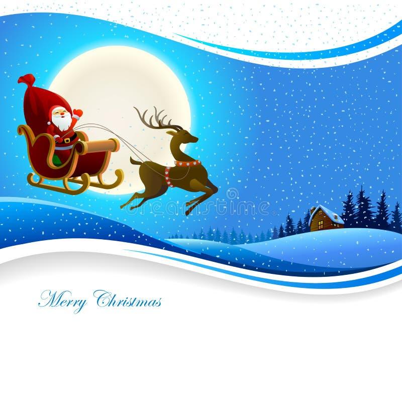 Santa Claus Banner royalty illustrazione gratis