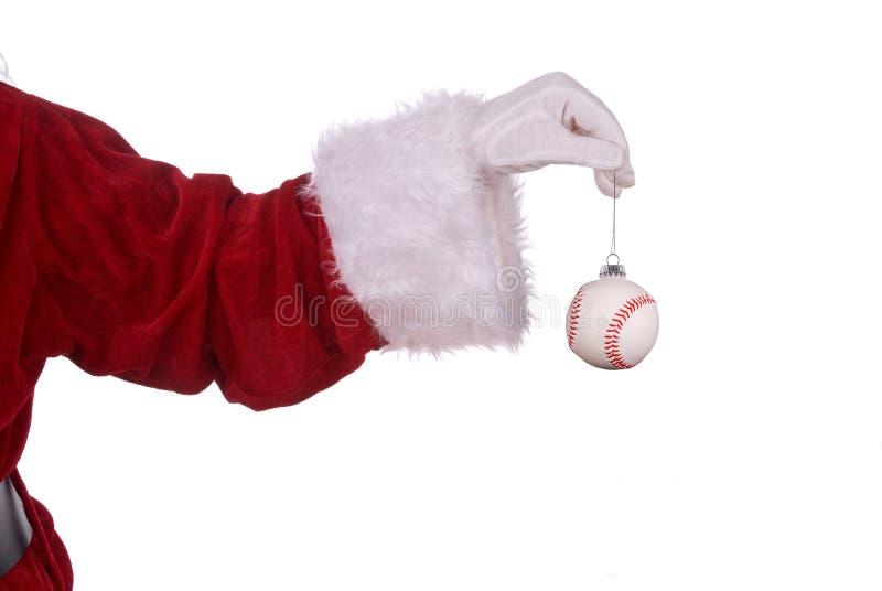 Download Santa Claus With Baseball Ornament Stock Photo - Image: 3461350