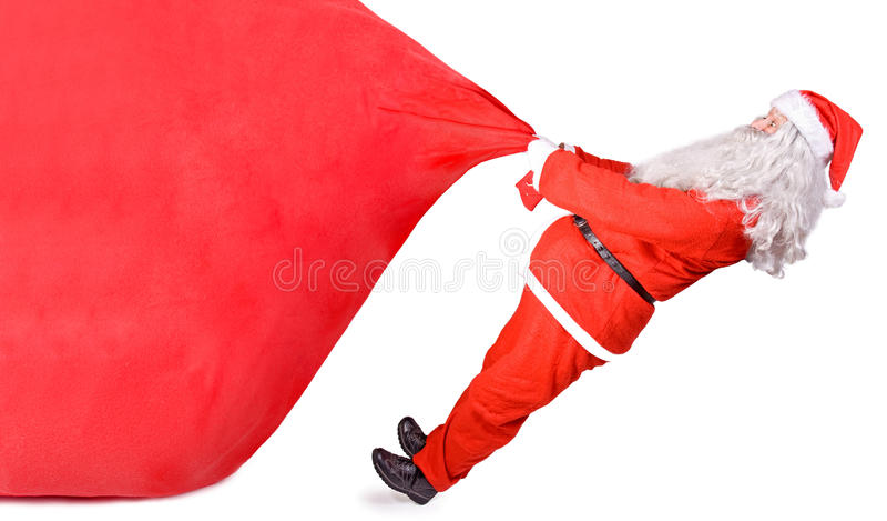 Download Santa Claus With A Big Bag Stock Image - Image: 27981871