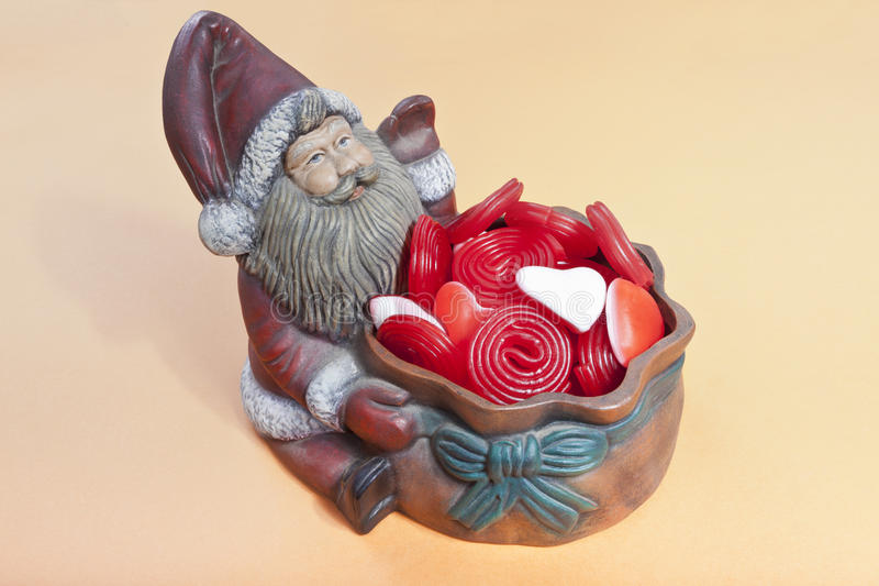 Download Santa Claus with candy stock image. Image of party, christmas - 21806989