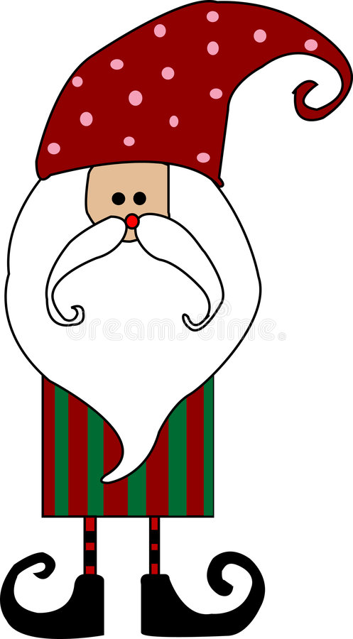 Free Santa Claus Card Royalty Free Stock Photos - 6700098