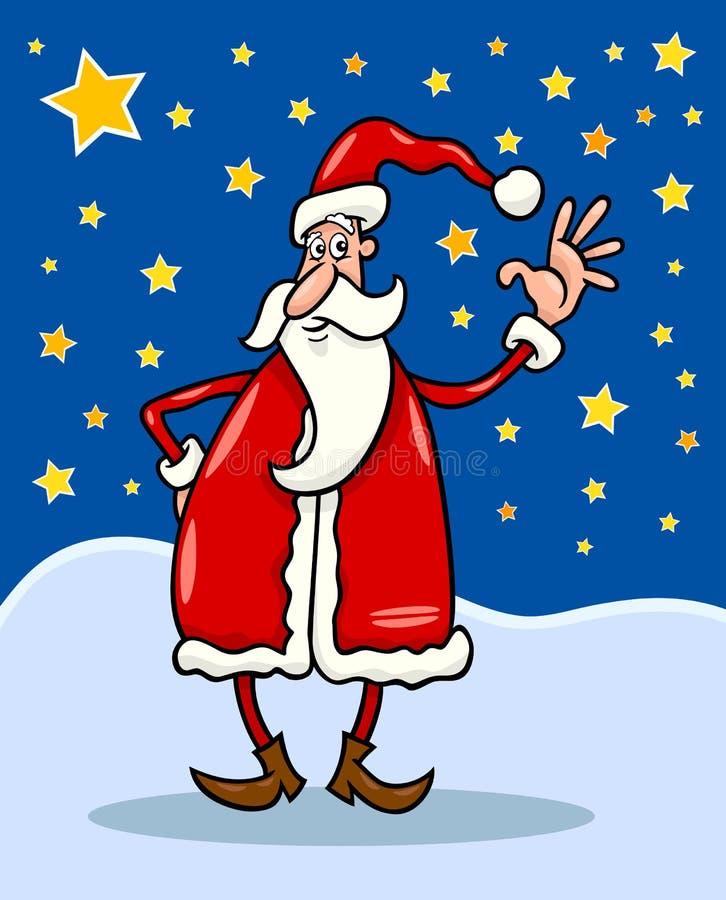 Download Santa claus cartoon stock vector. Illustration of senior - 26568290