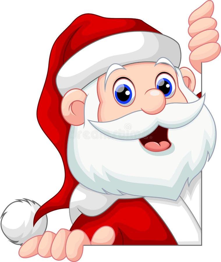 Santa Claus Cartoon royalty-vrije illustratie