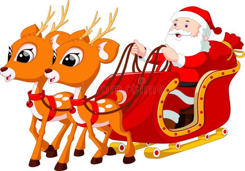 Santa Claus Cartoon vector illustratie