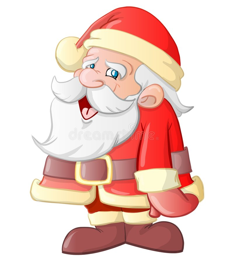 Download Santa Claus Cartoon stock illustration. Image of gifts - 7349682