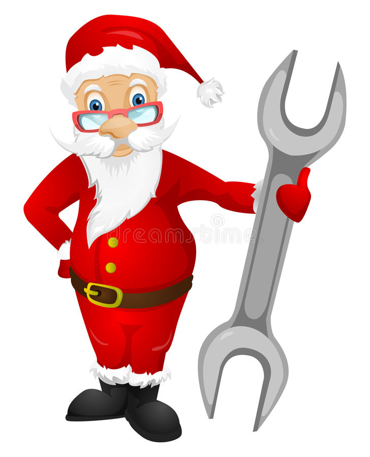 Download Santa Claus stock vector. Image of isolated, adult, costume - 32068119