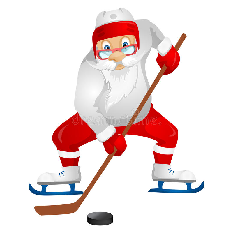 Download Santa Claus stock vector. Image of attack, adult, gift - 32064389
