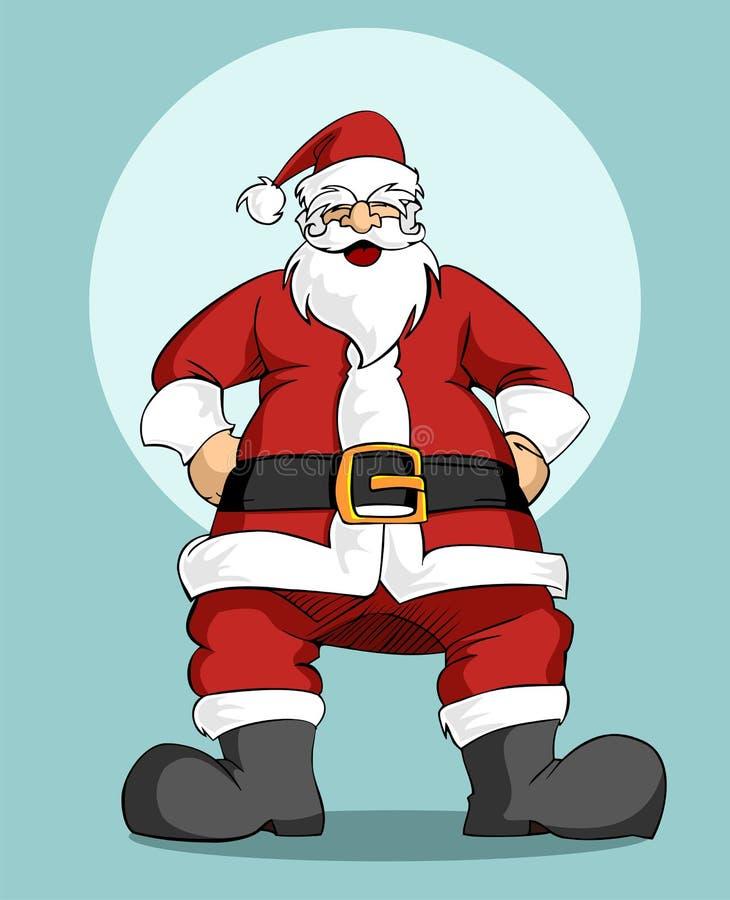 Download Santa Claus: Christmas Greeting Card Stock Vector - Image: 11779704