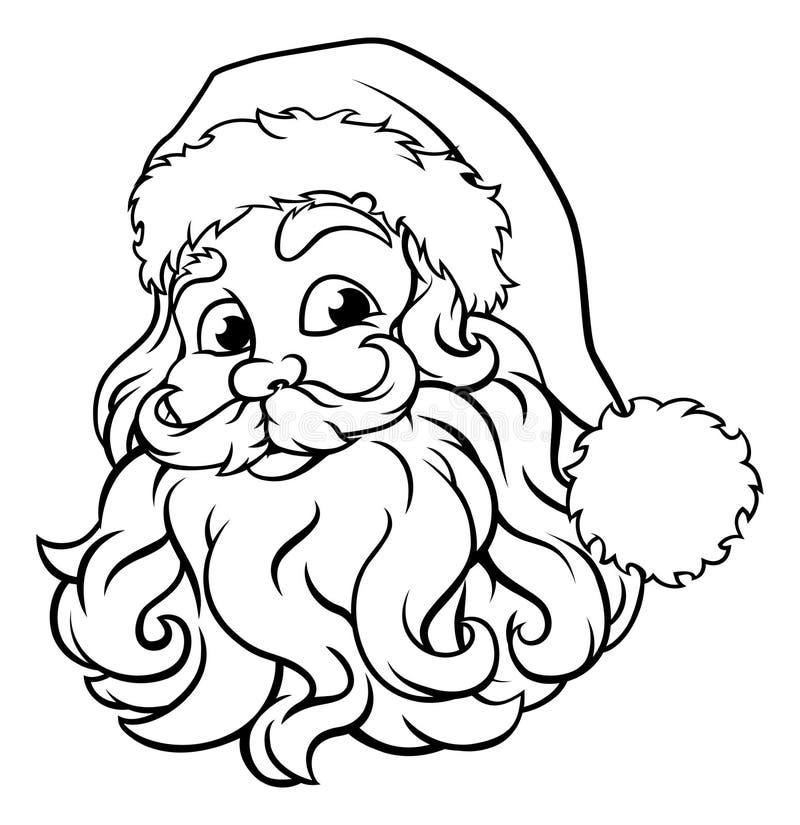 Santa Claus Christmas Illustration ilustración del vector