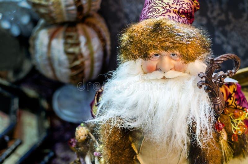 Santa Claus Christmas Statue imagem de stock royalty free