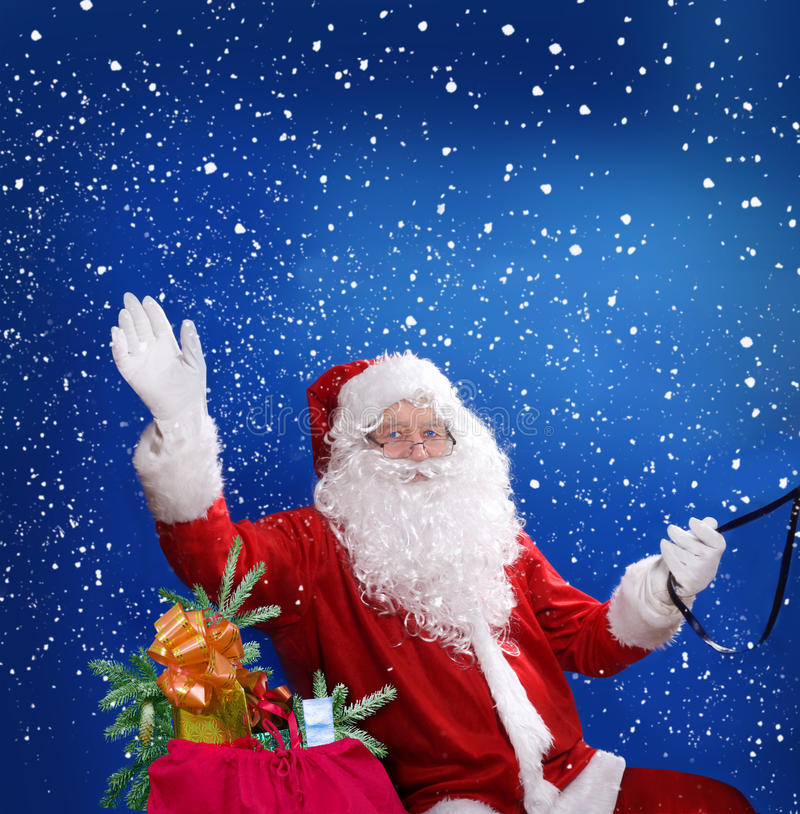 Download Santa Claus stock image. Image of merry, person, older - 35130385