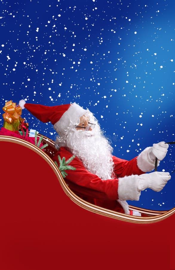 Download Santa Claus stock image. Image of gift, profile, december - 35130401