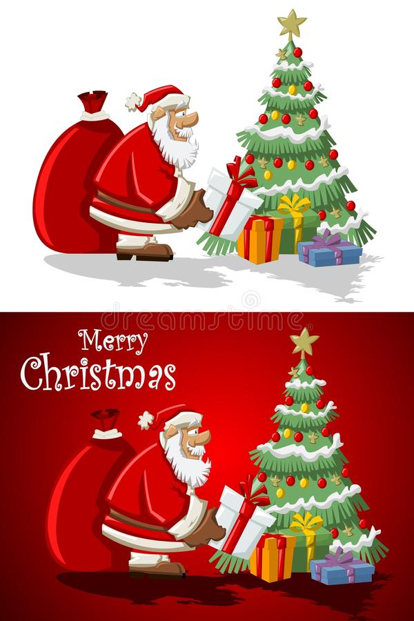 Download Santa-Claus On Christmas Time Stock Vector - Illustration of claus, holiday: 16568996