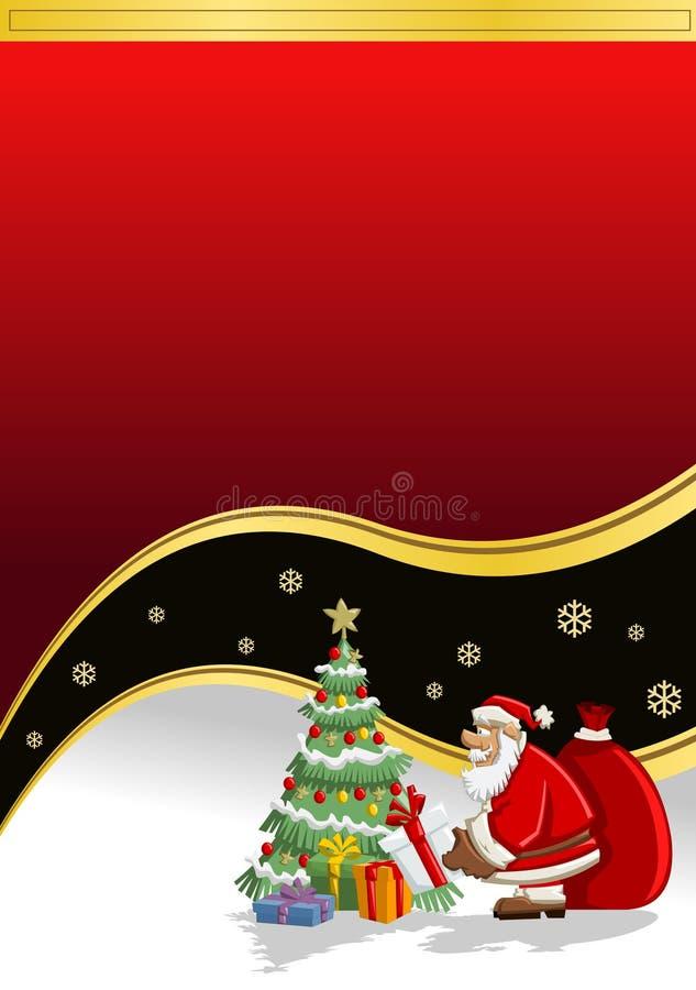 Santa-Claus On Christmas Time Stock Photos