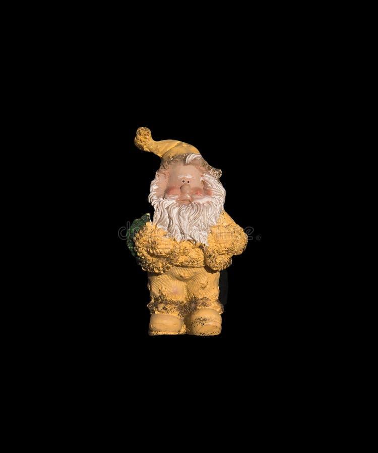 Santa Claus Christmas Tree Ornament fotografia stock libera da diritti