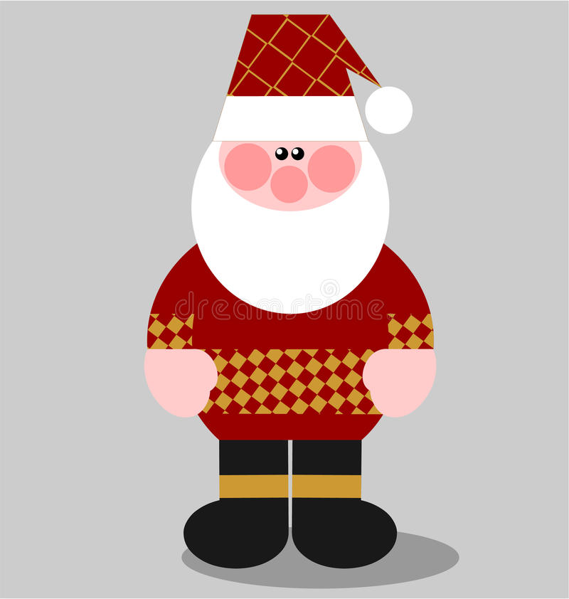 Download Santa Claus color 02 stock vector. Illustration of abstract - 11352959