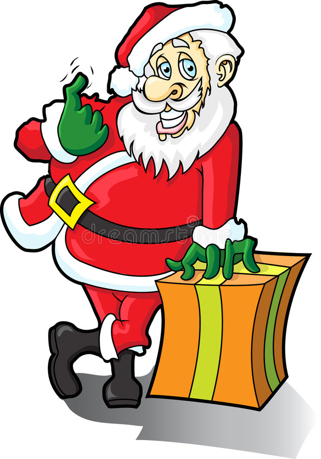 Download Santa Claus Come Here Royalty Free Stock Photos - Image: 3711288