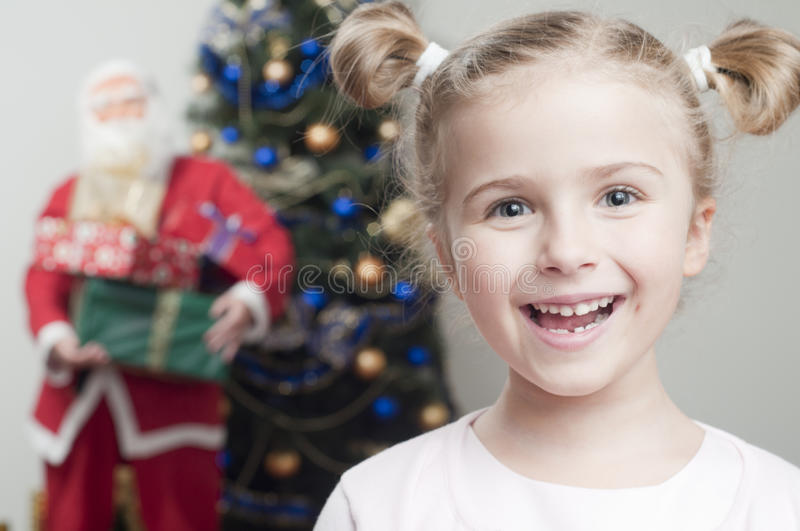 Santa Claus is coming stock photography