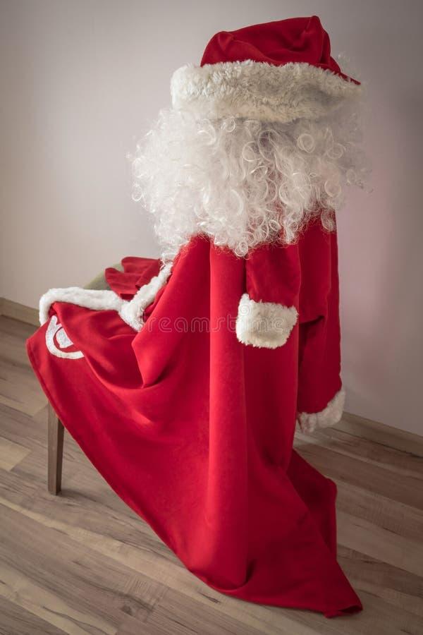 Santa Claus Costume imagenes de archivo