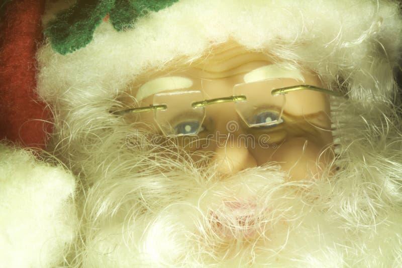 Santa Claus Decoration Portrait royaltyfri foto