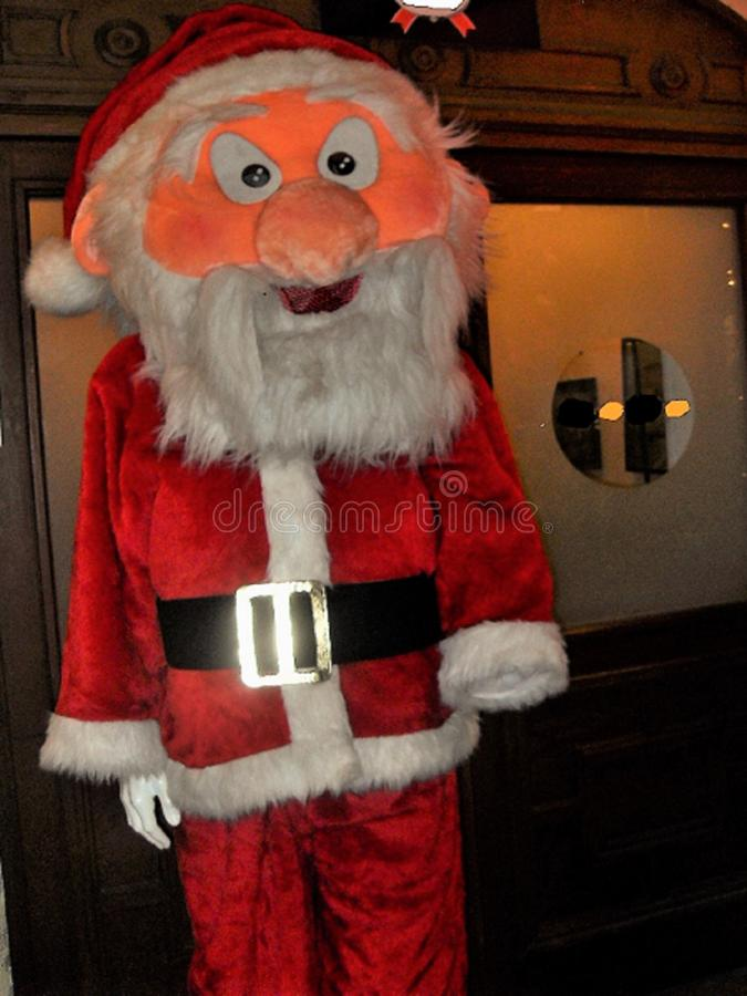 Santa Claus doll in full size royalty free stock images