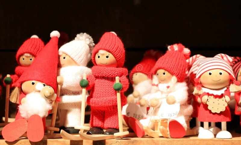 Santa Claus Doll. The Santa Claus Doll Souvenir in Finland stock photo