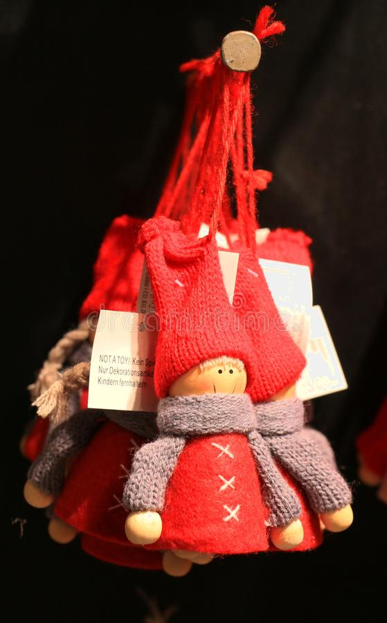 Santa Claus Doll. The Santa Claus Doll Souvenir in Finland stock images