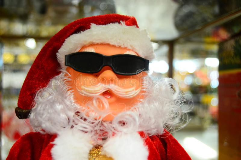 Santa Claus doll for your banner and Brochure. This image for your banner and poster royalty free stock photo