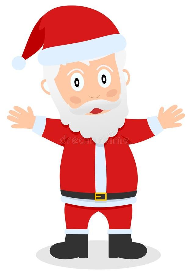 Santa Claus eller faderjul royaltyfri illustrationer