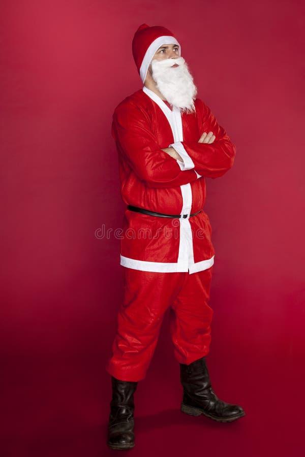 Santa Claus está muito segura foto de stock royalty free