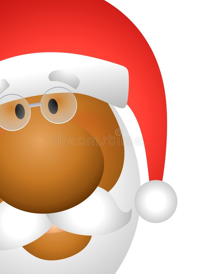 Santa Claus Face 2 vector illustration