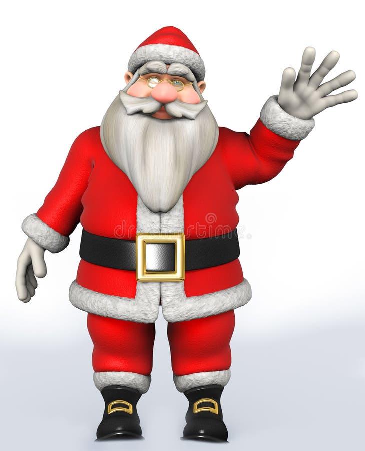 Santa Claus Father Christmas stock de ilustración