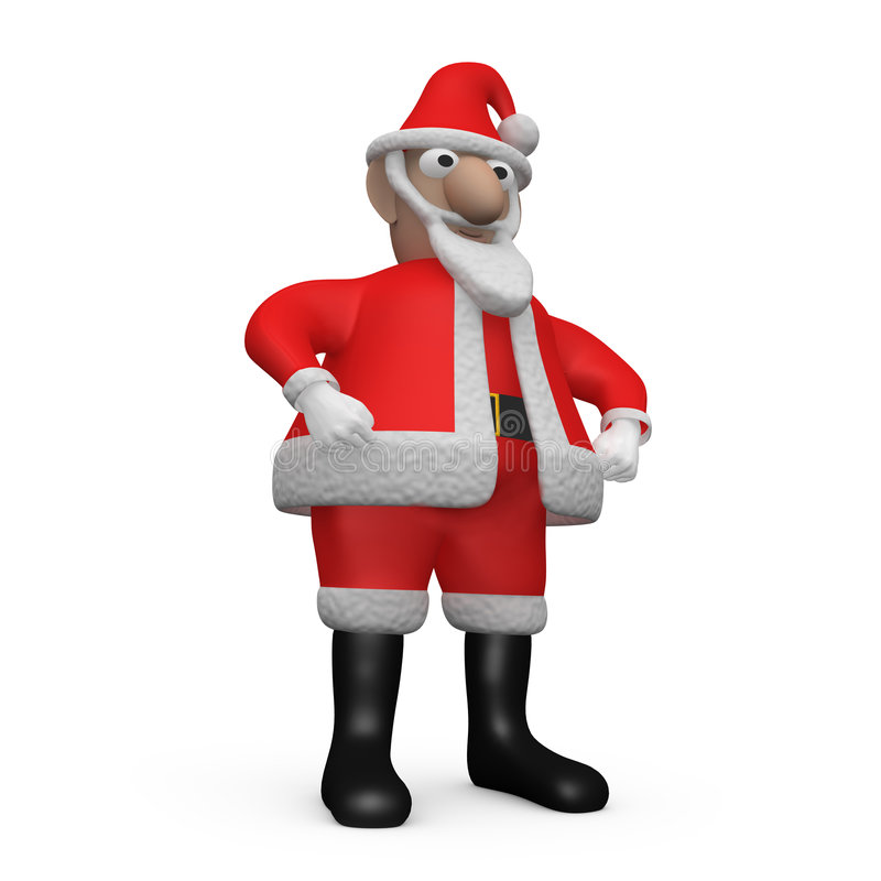 Download Santa Claus figurine stock illustration. Illustration of illustration - 1475281