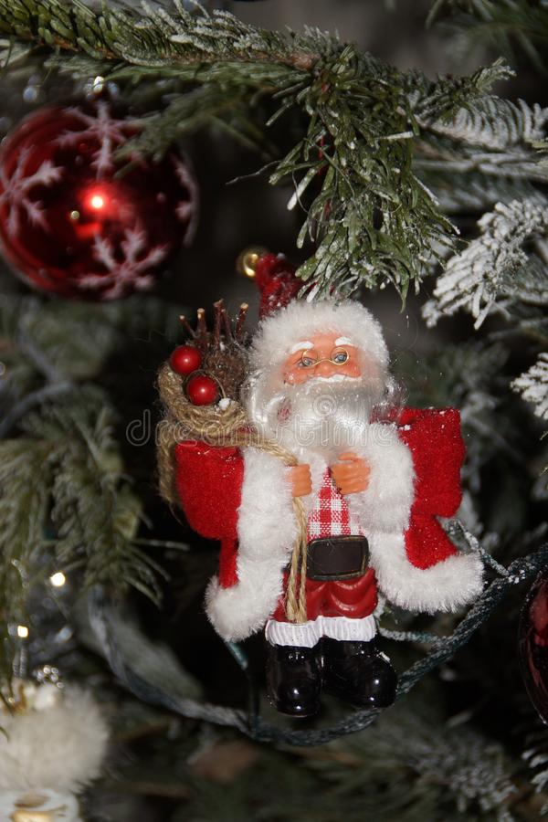 The Santa Claus - Front view royalty free stock photography
